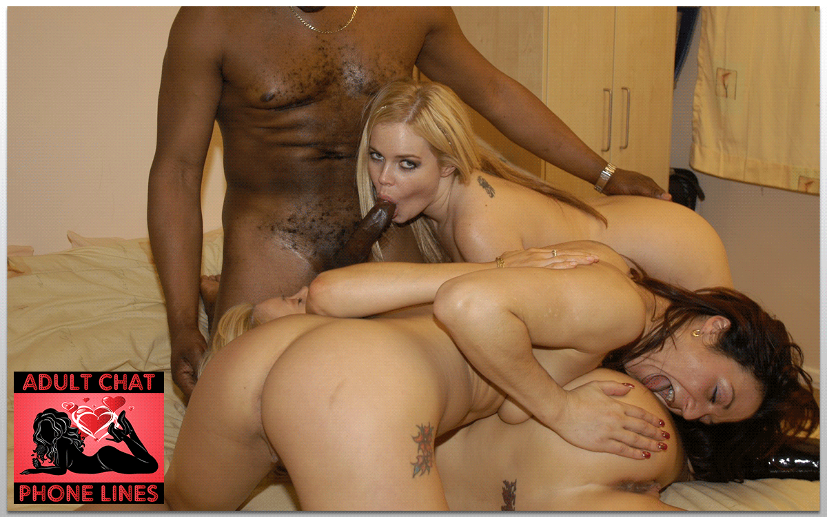 Interracial Orgy Phone Sex